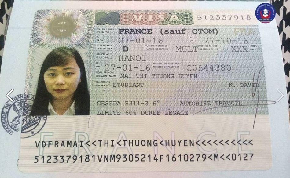 Hướng dẫn làm thủ tục visa du học Pháp