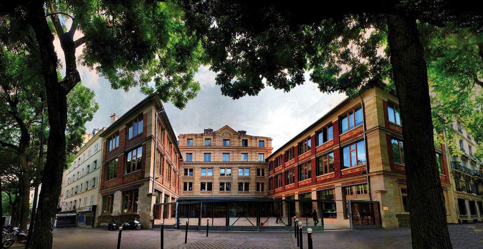 trường kiến trúc Paris Belleville