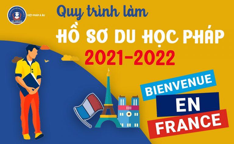 Quy trình làm hồ sơ du học Pháp với 7 bước cơ bản