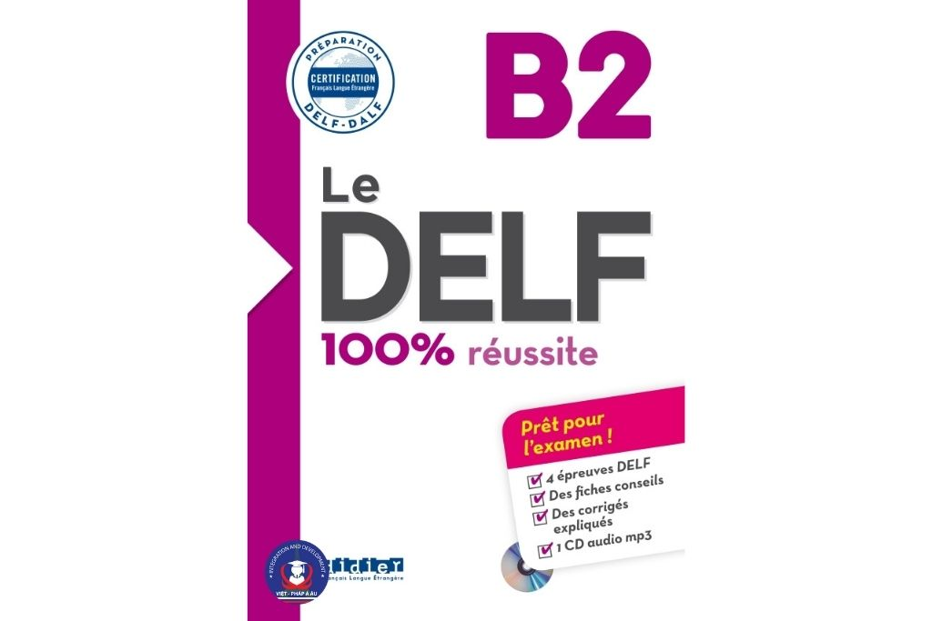 sách delf b2 100 reussite